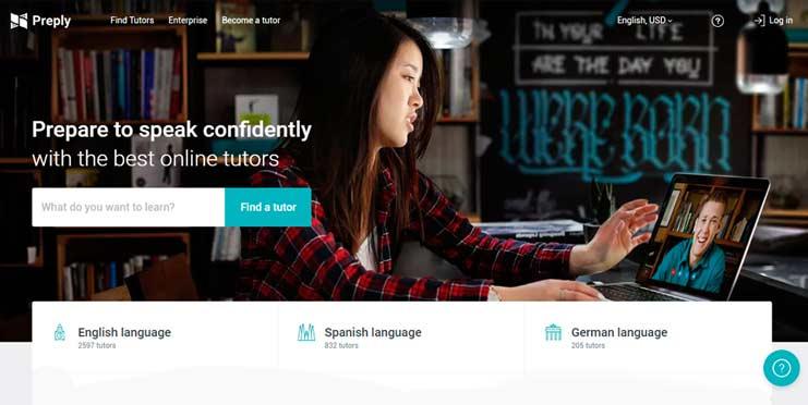 Enseñar inglés online con Preply