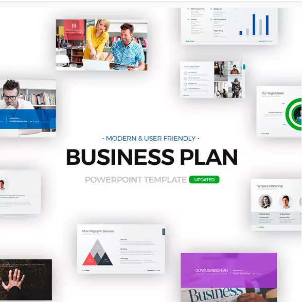 plantilla de power point business plan