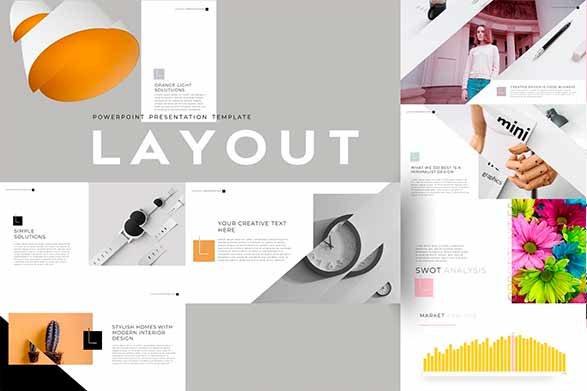 Layout plantilla de power point