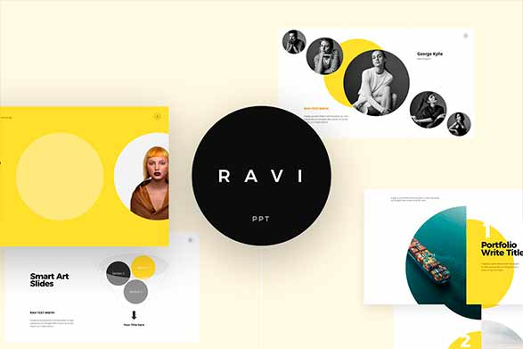 Ravi plantilla para power point