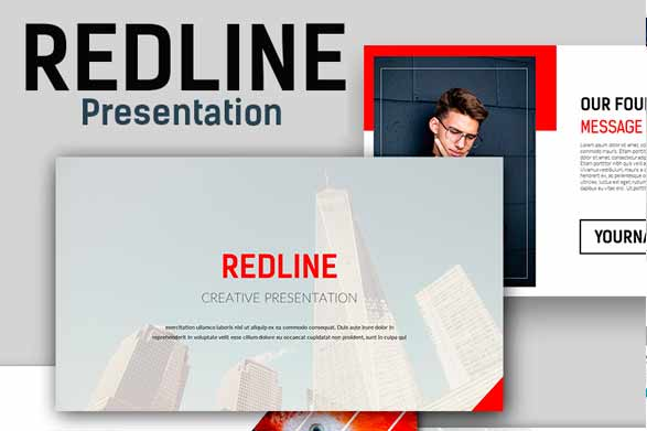 redline plantilla de power point
