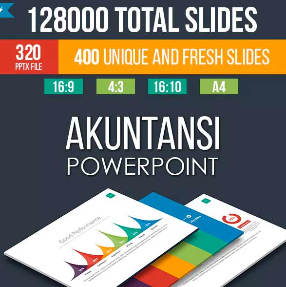 plantilla Akuntansi de power point
